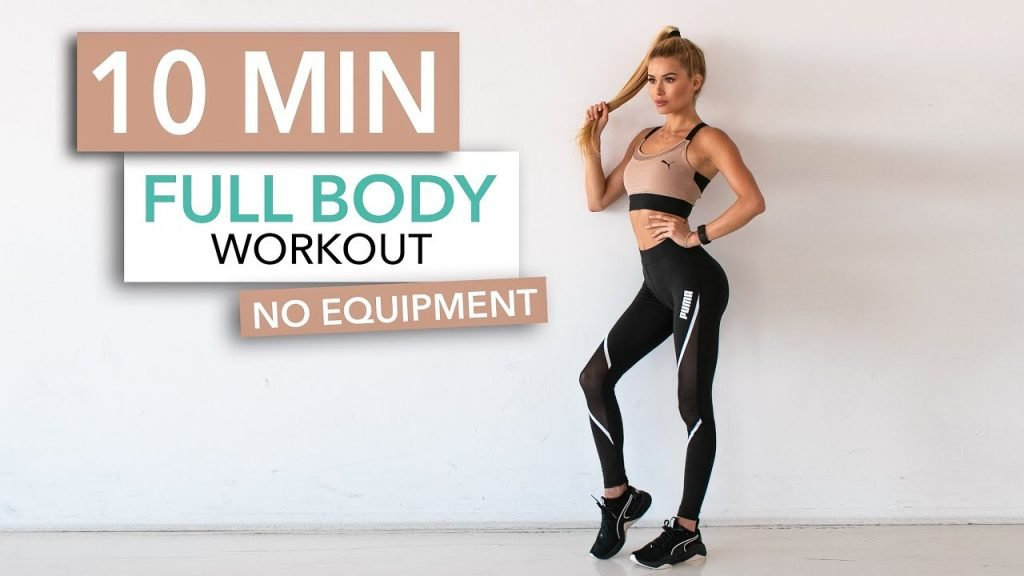 10 Minutes Full Body Workout (Without Equipment)
