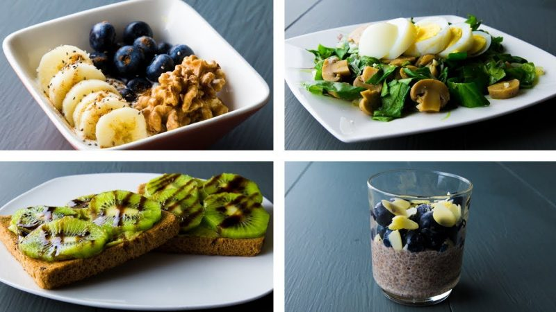 4 Healthy Breakfast Ideas That You May Like